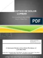 diagnostico clinico de dolor lumbar