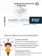 HAND HYGIENE AWARENESS (5 MOMENTS+ STEPS OF HANDWASHING) PPT