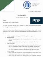 HausViva Lò Lu Quận 9_Thông báo