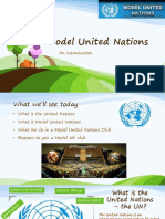 model united nations - intro
