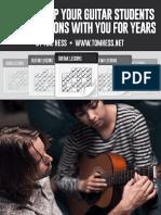 Guitar teacher's marketing
