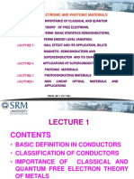 PPT ON FREE ELECTRON THEORY