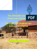 2019 SARL Diary of Events and Information