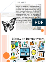 Media of Instruction