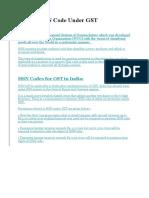 HSN Code,PDI Reports