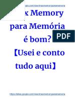 Max Memory Suplemento para Memoria
