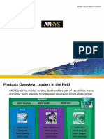 Ansys Product Overview