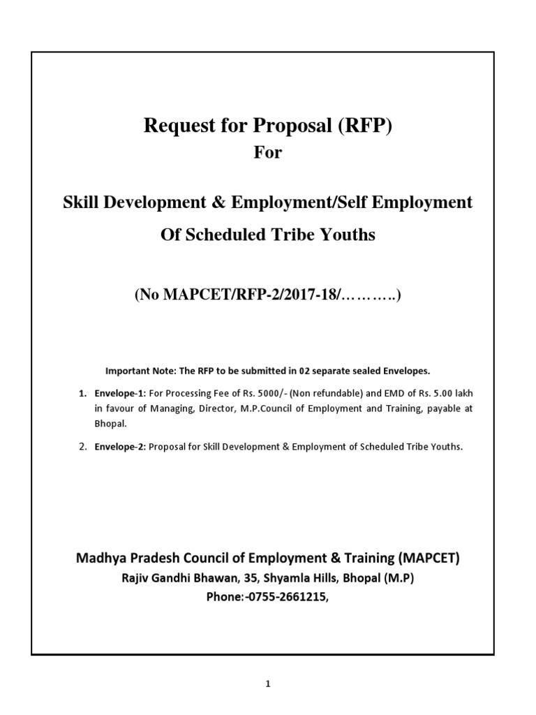 Madhya Pradesh Council of Employment Training MAPCET | Limited