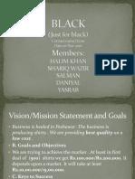 (BLACK) Business Plan