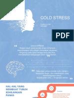 Cold Stress Definisi Prevalensi