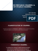 Stable n Unstable Channel