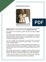 Biografía de Muhammad Yunus