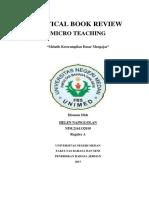 Cbr Micro Teaching