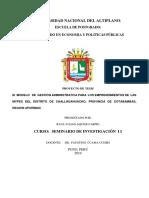 El  MODELO   DE  GESTIÓN  PARA  LOS EMPRENDIMIENTOS DE  LAS MYPES DEL DISTRITO DE CHALLHUAHUACHO-ultimo.docx