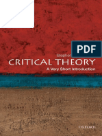 (Very Short Introductions) Stephen Eric Bronner - Critical Theory Traduzido.pdf