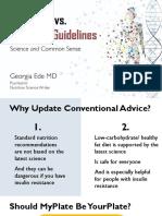 D1 - Georgia Ede - LowCarb vs Standard Guidelines