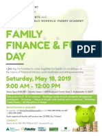 Family Finance Fun Day 2019