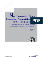 Detecon Opinion Paper Next-Generation PLM - Strengthen Competitiveness in the Telco Business