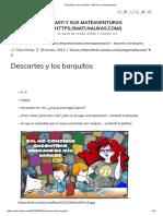 Descartes y Los Barquitos - Mati y Sus Mateaventuras