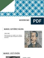 Modernismo en la poesía mexicana
