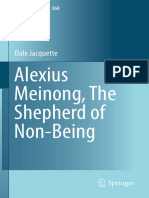 Jacquette D. - Alexius Meinong, The Shepherd of Non-Being - 2015.pdf