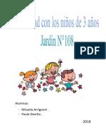 Actividad Psicomotricidad en Jardín.docx - Documentos de Google