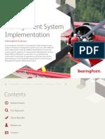 BearingPoint Transport Management System Implementation