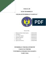Revisi Makalah Kelompok 4 (Sejarah Pendidikan).Docx