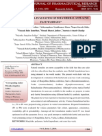 Formulation and Evaluation of Poly-herb