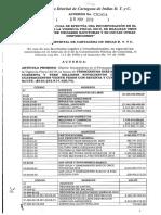 Acuerdo 0001 del 9 de mayo de 2019
