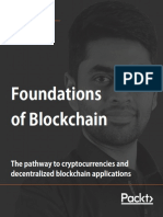 Foundations of Blockchain