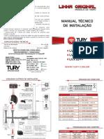 Manual Tury - módulo vidro elétrico