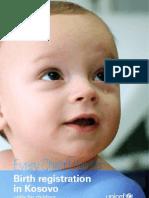 UNICEF Birth Registration 2009 English