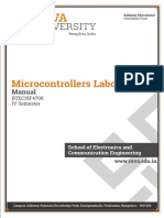 Microcontrollers Lab -