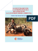 Hacia los fundamentos ético-antropológicos y metafísicos de la catástrofe medio-ambiental