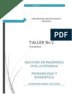 Taller de Probabilidad 09 Mayo 2019 c