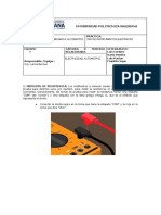 Uso de Instrumentos Eléctricos de Medición
