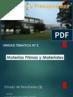Presentación U2 M Primas y Materiales