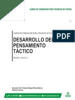 Documento Desarrollo Del Pensamiento Táctico