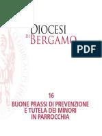 Diocesi di Bergamo - Buone prassi di prevenzione e tutela dei minori in parrocchia