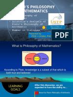 Plato's Philosophy of Arithmetic PEDE CASING