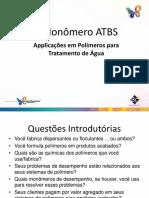Monômero ATBS Tratamento de Água