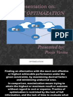 Presentation on Joint Optimization