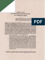 Agustin Cueva. A fascistização do Estado na AL.pdf