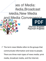 Types of Media Ppt