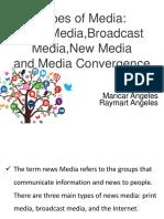 Types of Media Ppt