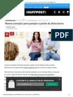 Nueve Consejos Para Parejas a Punto de Divorciarse _ El Huffington Post