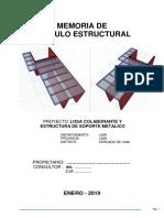 Memoria Calculo Estructural Losa Colaborante.pdf