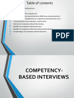 Competency Based Recruitment and Hiring Presentation