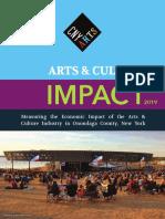 Arts & Culture Impact Report